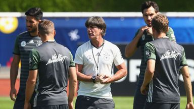 Germany not worried by history