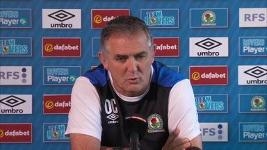 Coyle 'vigorously chasing players'
