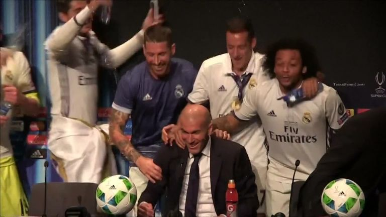 Madrid players hijack press conference | Video | Watch TV ...