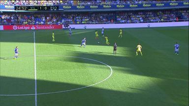 Villarreal score from halfway line!
