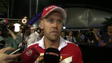 Vettel on Q1 exit