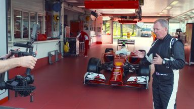 Behind the scenes at Fiorano