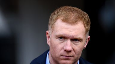 Scholes as Oldham manager?
