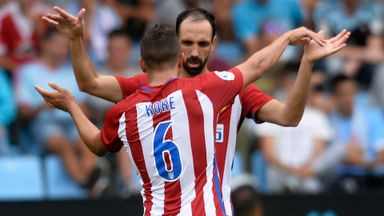 First La Liga win for Atletico Madrid