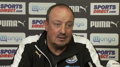 Benitez wants Newcastle improvement