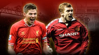 Man Utd v Liverpool - Best Premier League goals
