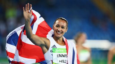 Ennis-Hill to receive 2011 gold