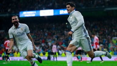 Morata sends Madrid top