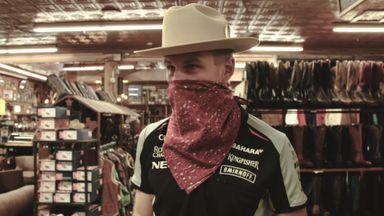 Hulkenberg the cowboy