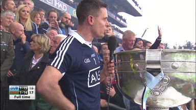 Cluxton lifts Championship trophy