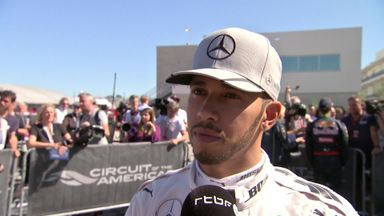 Hamilton secures maiden Austin pole