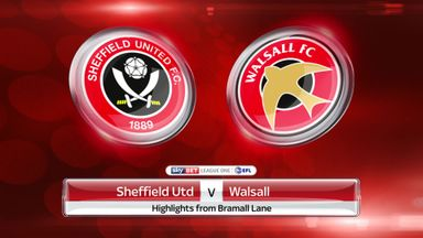 Sheffield Utd 0-1 Walsall