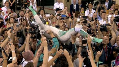 Rosberg wins F1 world title