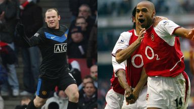 Arsenal v Man Utd: Memorable goals