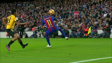 Neymar embarrasses defender