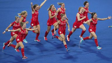 GB Women hold Golden Hockey Ball