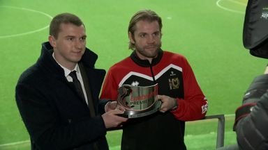 Neilson picks up Hearts award at MK Dons