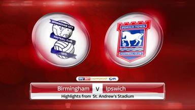 Birmingham 2-1 Ipswich