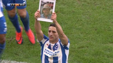 Knockaert's emotional celebration