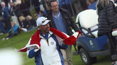 Bjorn at the Ryder Cup