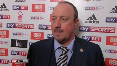 N Forest 2-1 Newcastle - Benitez