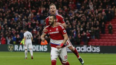 Middlesbrough 3-0 Swansea