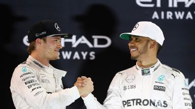 Palmer: Lewis disappointed with Rosberg