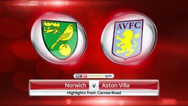 Norwich 1-0 Aston Villa