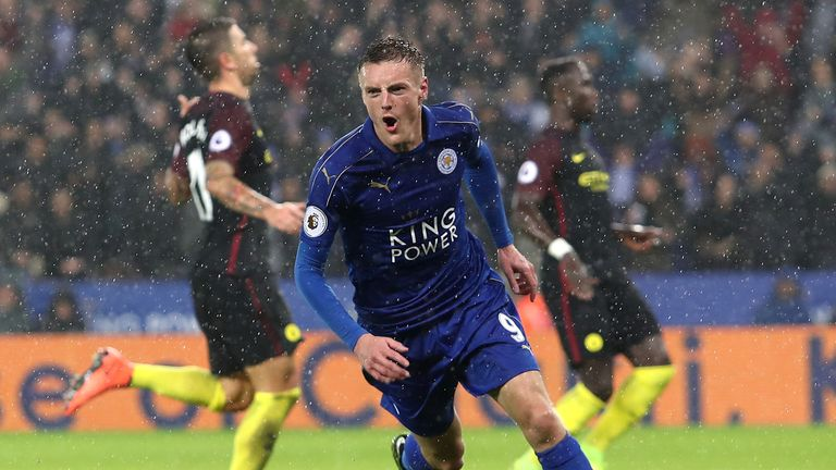 Image result for leicester 4-2 man city