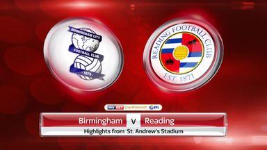 Birmingham 0-1 Reading