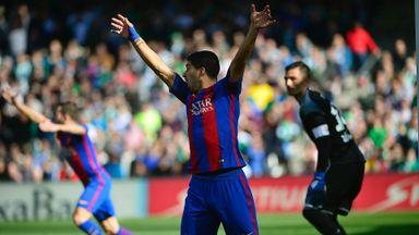Goal-line controversy in La Liga