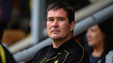 Clough stays at Burton