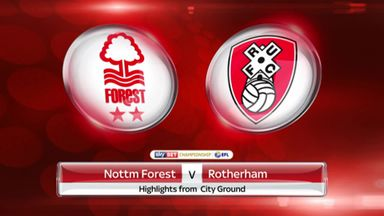 Nottingham Forest 2-0 Rotherham