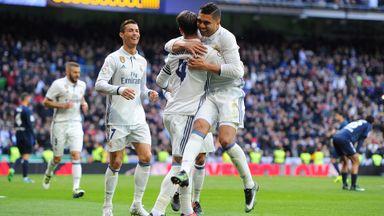 Real Madrid 2 -1 Malaga