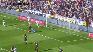Benzema doubles Real's lead