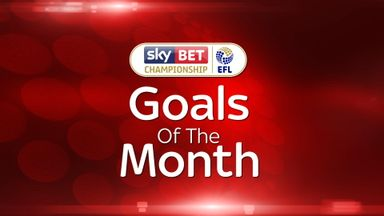 Championship - Goal of the Month