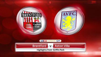 Brentford 3-0 Aston Villa