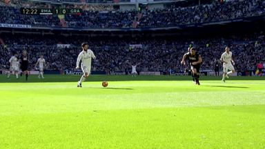 Isco opens scoring for Real