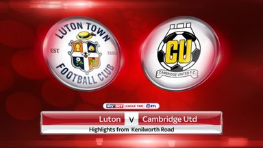 Luton 2-0 Cambridge