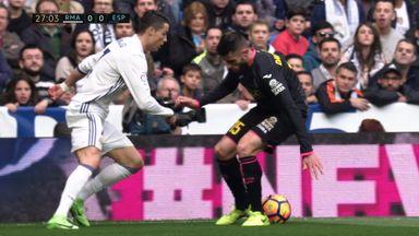 Ronaldo's elastico nutmeg