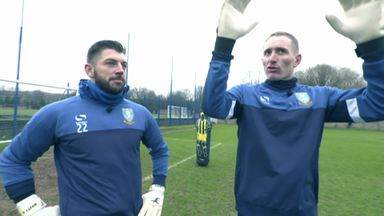 Goalkeepers reunion – Westwood and Kirkland