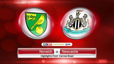 Norwich 2-2 Newcastle