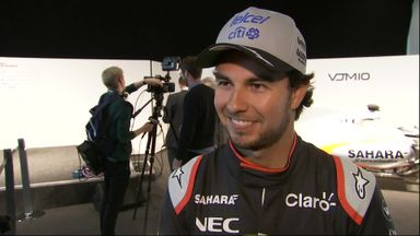 Perez amazed by new Force India car