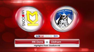 MK Dons 1-0 Oldham