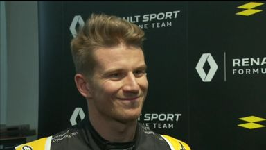 Hulkenberg excited by speed increase