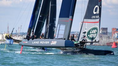 Ainslie launches GB Americas Cup boat