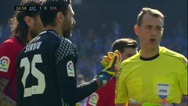 Red card confusion in La Liga