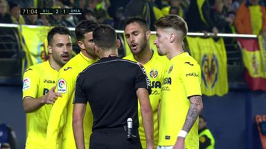 Villarreal incensed by penalty decision