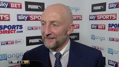 Holloway praises QPR comeback