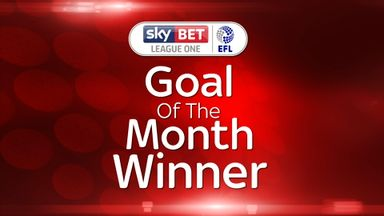 League One GOTM winner - Morris